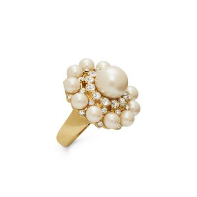 kate spade park avenue pearls ring wedding bridal jewelry