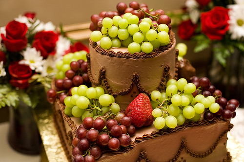Wedding Cake Fruits, Fruits Wedding Cakes, Wedding Cake With Fruits
